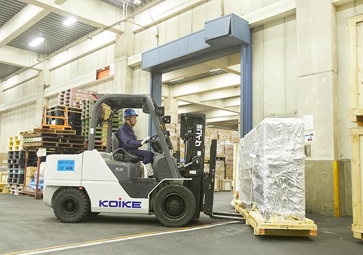 保税倉庫からの貨物搬出